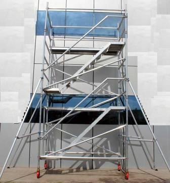 Type of scaffolding used in construction-Mobile scaffolding