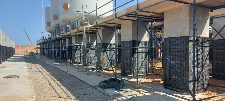 image of  scaffolding