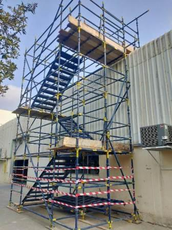 Stair access Scaffolding Tower